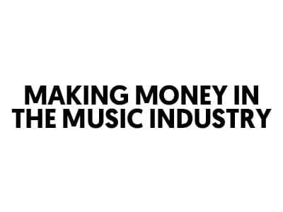 making money in music industry - lost stories academy